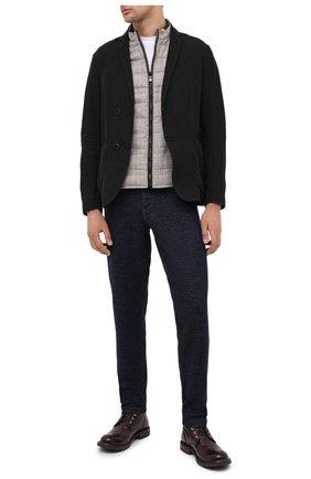 Мужские кожаные ботинки MOMA темно-коричневого цвета, арт. 2CW007-CUM | Фото 2
