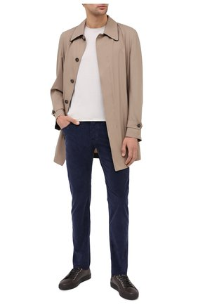 Мужской хлопковые брюки JACOB COHEN темно-синего цвета, арт. J688 C0MF 02077-V/54 | Фото 2