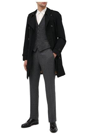 Мужской хлопковый жилет RALPH LAUREN серого цвета, арт. 798783841 | Фото 2