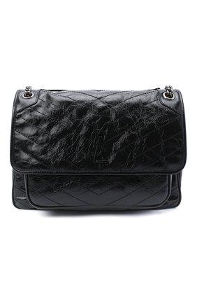 Женская сумка niki large SAINT LAURENT черного цвета, арт. 633157/0EN04 | Фото 1