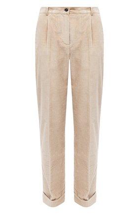 Женские брюки KITON бежевого цвета, арт. D50105S06325   Фото 1