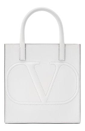 Женская сумка valentino garavani vlogo walk small VALENTINO белого цвета, арт. UW2B0H23/QEL | Фото 1
