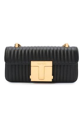 Женская сумка 001 medium TOM FORD черного цвета, арт. L1326T-ICL019 | Фото 1