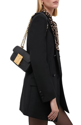 Женская сумка 001 medium TOM FORD черного цвета, арт. L1326T-ICL019 | Фото 2