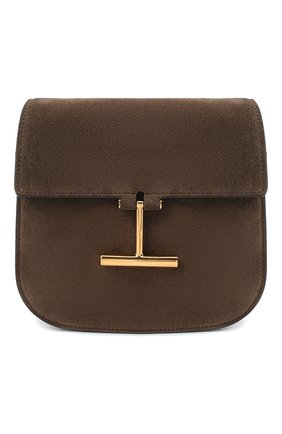 Женская сумка tara small TOM FORD коричневого цвета, арт. L1018T-LCL068 | Фото 1