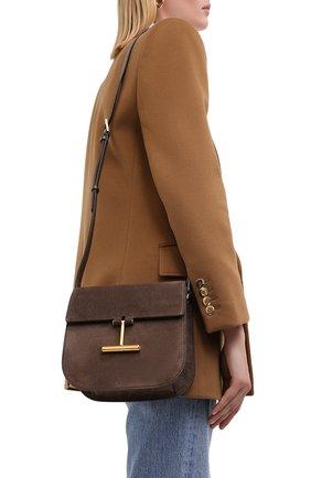Женская сумка tara small TOM FORD коричневого цвета, арт. L1018T-LCL068 | Фото 2