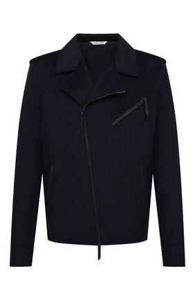 Мужская кашемировая куртка ANDREA CAMPAGNA темно-синего цвета, арт. 93700H9JD2900 | Фото 1 (Мужское Кросс-КТ: Верхняя одежда, Куртка-верхняя одежда, шерсть и кашемир; Длина (верхняя одежда): Короткие; Стили: Кэжуэл; Материал подклада: Шелк; Рукава: Длинные; Материал внешний: Шерсть; Кросс-КТ: Куртка)