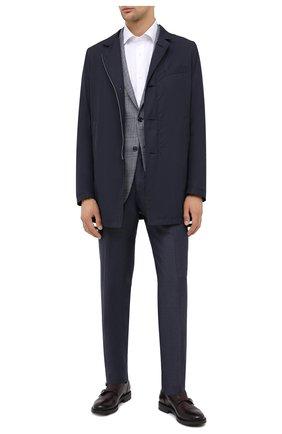 Мужские кожаные монки W.GIBBS бордового цвета, арт. 3169013/2300 | Фото 2
