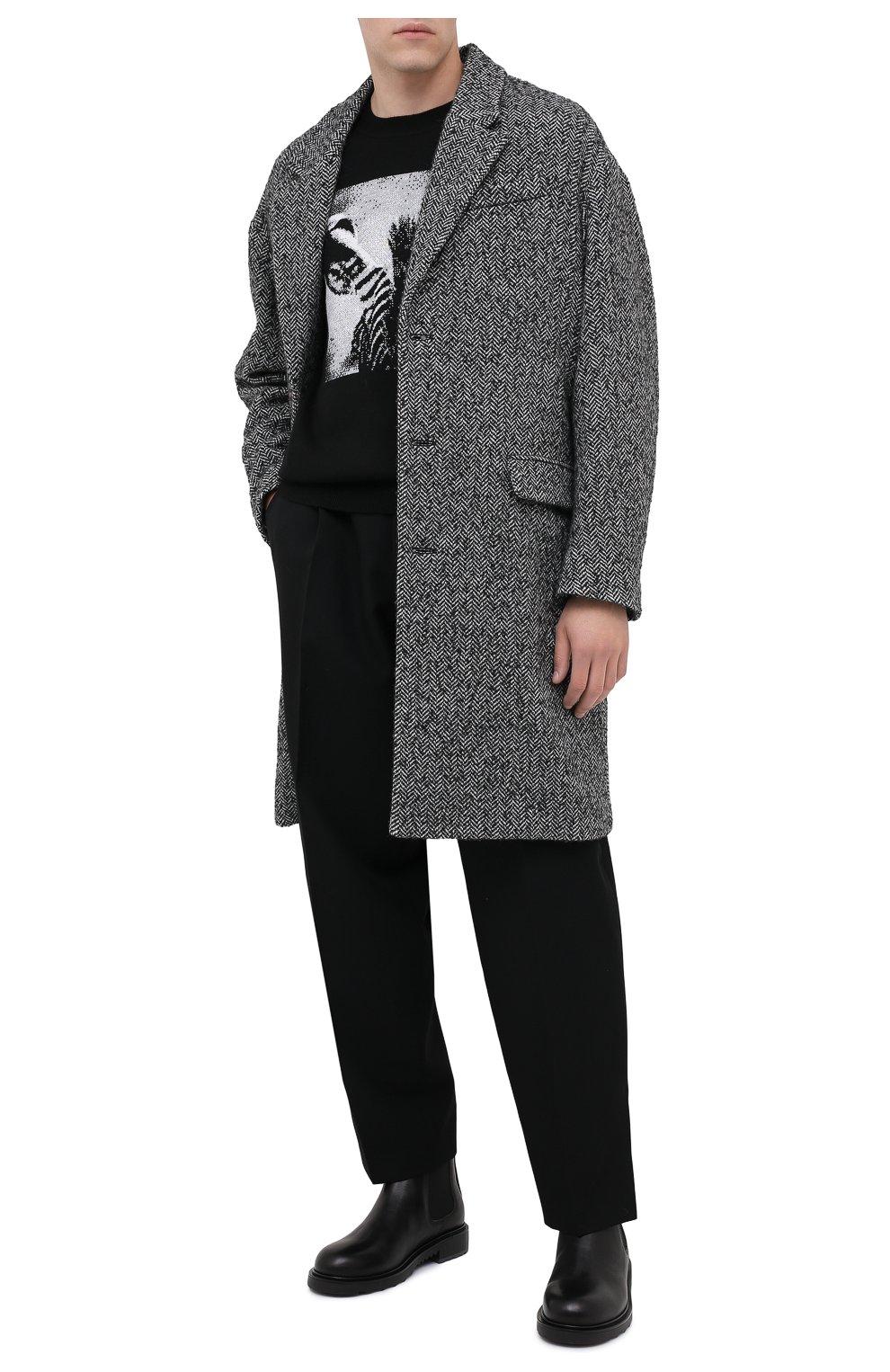 Мужской пальто ISABEL MARANT серого цвета, арт. MA0565-20A010H/STANT0N   Фото 2
