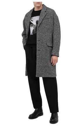 Мужской пальто ISABEL MARANT серого цвета, арт. MA0565-20A010H/STANT0N | Фото 2