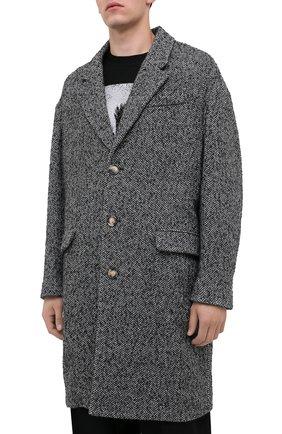 Мужской пальто ISABEL MARANT серого цвета, арт. MA0565-20A010H/STANT0N   Фото 3