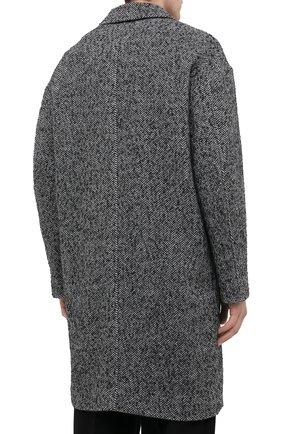 Мужской пальто ISABEL MARANT серого цвета, арт. MA0565-20A010H/STANT0N   Фото 4