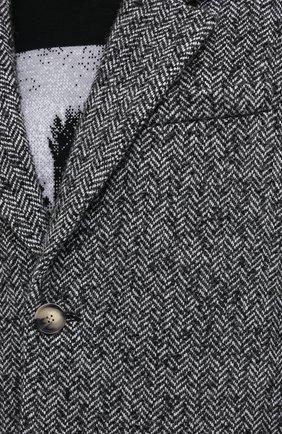 Мужской пальто ISABEL MARANT серого цвета, арт. MA0565-20A010H/STANT0N   Фото 5