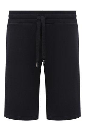 Мужские хлопковые шорты DOLCE & GABBANA темно-синего цвета, арт. GYUTEZ/G7TWG | Фото 1