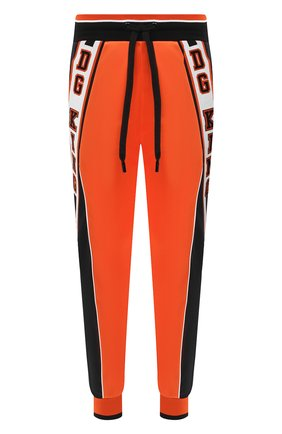 Мужской джоггеры DOLCE & GABBANA оранжевого цвета, арт. GYLQAZ/G7X0G | Фото 1