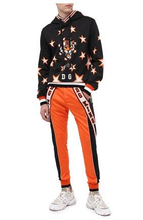 Мужской джоггеры DOLCE & GABBANA оранжевого цвета, арт. GYLQAZ/G7X0G | Фото 2