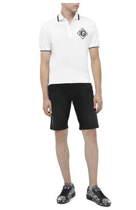 Мужские джинсовые шорты DOLCE & GABBANA черного цвета, арт. GY4JED/G8C02 | Фото 2