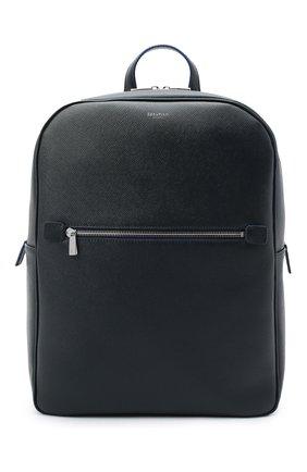 Мужской кожаный рюкзак evoluzione SERAPIAN темно-синего цвета, арт. SEV0LMLL7006M31C | Фото 1