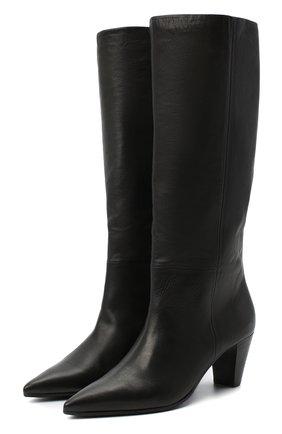 Женские кожаные сапоги VIC MATIE черного цвета, арт. 1Y5214D.Y16Y190101 | Фото 1