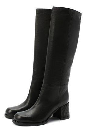 Женские кожаные сапоги VIC MATIE черного цвета, арт. 1Y5246D.Y18Y060101 | Фото 1