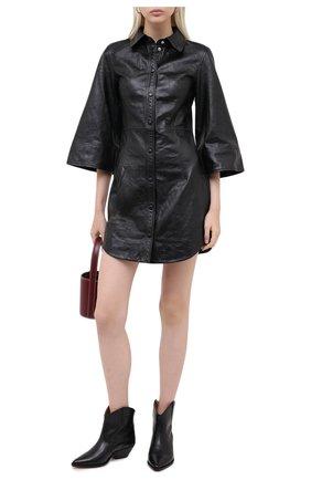 Женские кожаные ботинки dewina ISABEL MARANT черного цвета, арт. DEWINA/B00174-20A021S | Фото 2