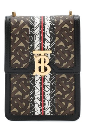 Женская сумка valencia BURBERRY бежевого цвета, арт. 8030427 | Фото 1