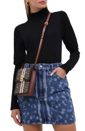 Женская сумка valencia BURBERRY бежевого цвета, арт. 8030427 | Фото 2