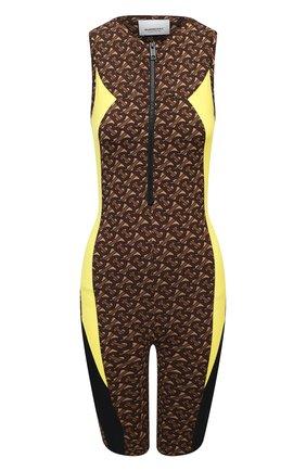 Женский комбинезон BURBERRY коричневого цвета, арт. 8030459 | Фото 1