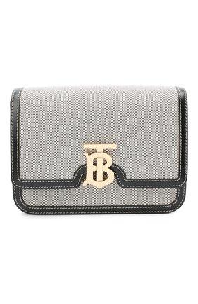 Женская сумка tb small BURBERRY черного цвета, арт. 8030666 | Фото 1