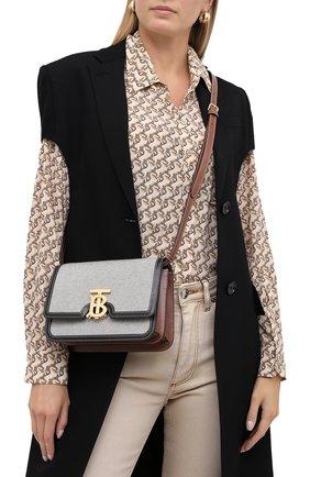Женская сумка tb small BURBERRY черного цвета, арт. 8030666 | Фото 2