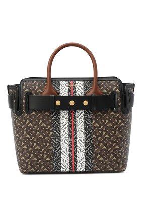 Женская сумка belt small BURBERRY коричневого цвета, арт. 8030710 | Фото 1