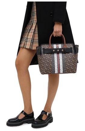 Женская сумка belt small BURBERRY коричневого цвета, арт. 8030710 | Фото 2