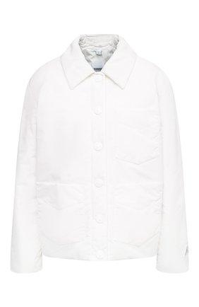 Женская куртка BURBERRY белого цвета, арт. 8030855 | Фото 1