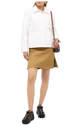 Женская куртка BURBERRY белого цвета, арт. 8030855 | Фото 2