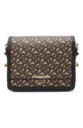 Женская сумка grace BURBERRY коричневого цвета, арт. 8031751 | Фото 1