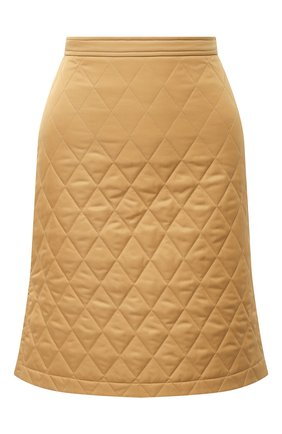Женская юбка BURBERRY бежевого цвета, арт. 8032290 | Фото 1