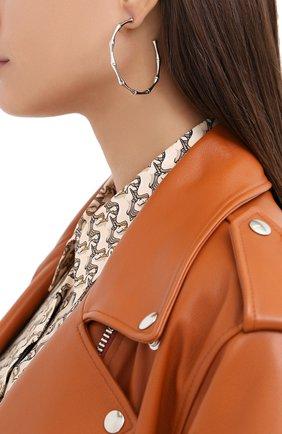Женские серьги EXCLAIM серебряного цвета, арт. 042S3019E | Фото 2