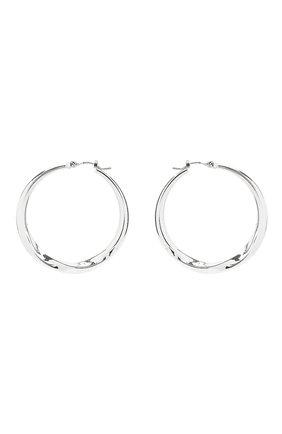 Женские серьги EXCLAIM серебряного цвета, арт. 042S3018E | Фото 1