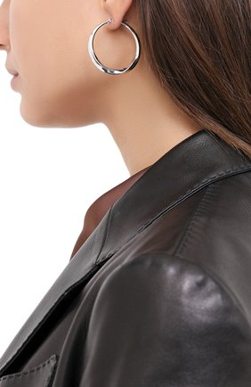Женские серьги EXCLAIM серебряного цвета, арт. 042S3018E | Фото 2