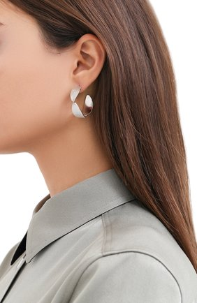 Женские серьги EXCLAIM серебряного цвета, арт. 042S3164E | Фото 2