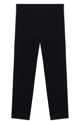 Детского хлопковые брюки DAL LAGO синего цвета, арт. R215A/8945/4-6 | Фото 2