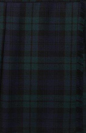 Детская шерстяная юбка DAL LAGO зеленого цвета, арт. R299/2016/13-16 | Фото 3
