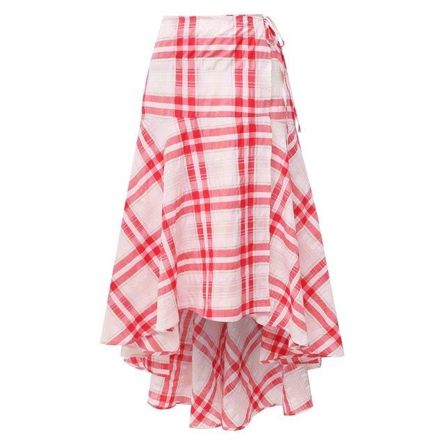 Хлопковая юбка Ganni