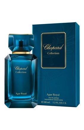 Мужской парфюмерная вода agar royal CHOPARD бесцветного цвета, арт. 7640177367518   Фото 1