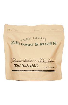 Женского соль мертвого моря cedarwood & sandalwood & amber, patchouli ZIELINSKI&ROZEN бесцветного цвета, арт. 4627153152187 | Фото 1