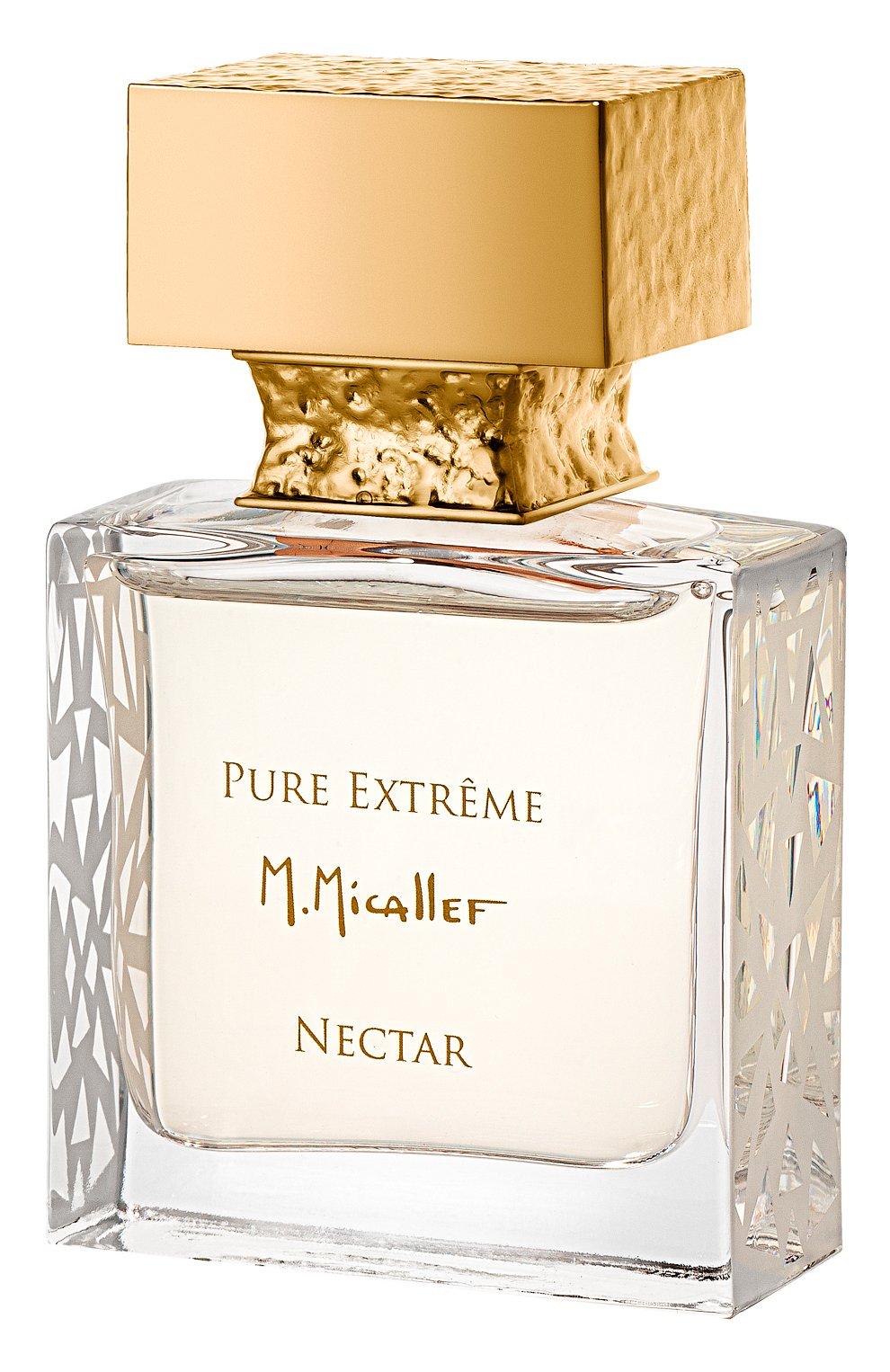 Духи pure extrême nectar (30ml) M. MICALLEF бесцветного цвета, арт. 3760231057705 | Фото 1 (Ограничения доставки: flammable)