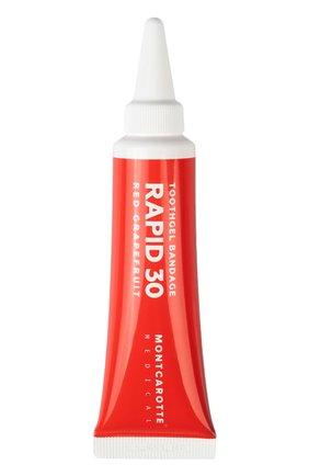 Зубной гель-бандаж для полости рта rapid 30 red grapefruit MONTCAROTTE бесцветного цвета, арт. MCM0430 | Фото 1