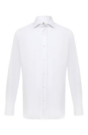 Мужская хлопковая сорочка LUIGI BORRELLI белого цвета, арт. DR06/LUCIAN0/TS10701 | Фото 1