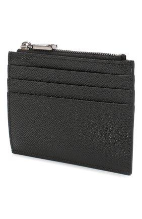 Мужской кожаный футляр для кредитных карт DOLCE & GABBANA черного цвета, арт. BP2266/AZ602 | Фото 2
