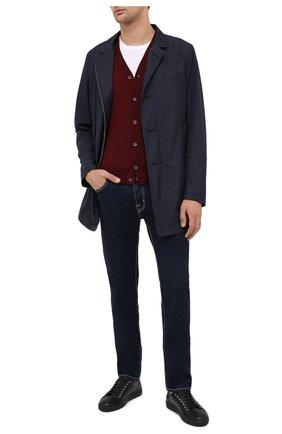 Мужской шерстяной кардиган CRUCIANI бордового цвета, арт. CU164B.C05F6V   Фото 2